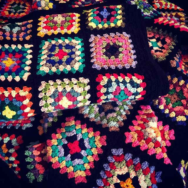 We've been donated some beautiful hand-crocheted blankets to help people keep warm this winter and make their space feel more homely.