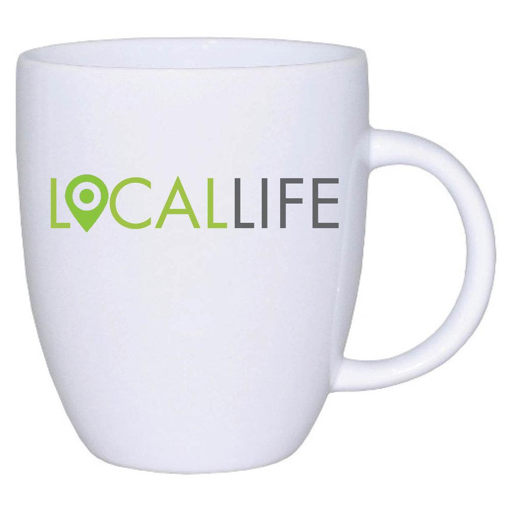 Local Life Mug, $14