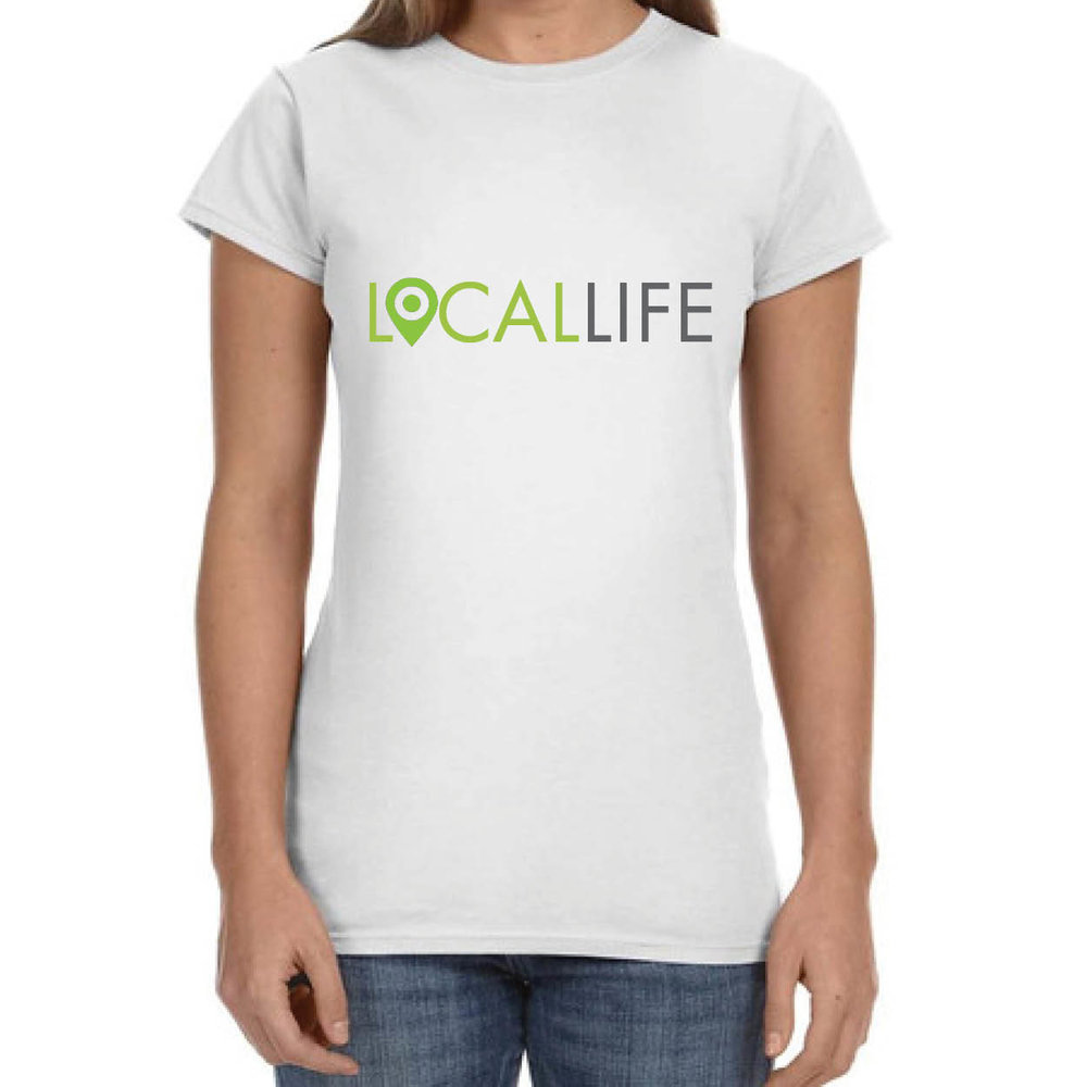 Local Life T-Shirt, Womens $19
