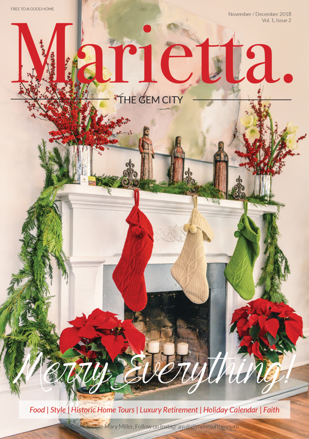 Holiday Issue - November / December 2018