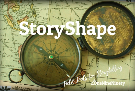 Use a 'Storyshape' to visual your narrative, revealing the emotions and natural arcs  in your story