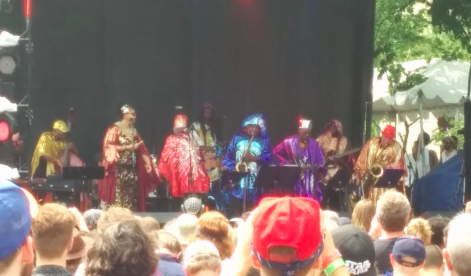 Sun Ra and His Arkestra  at Pitchfork Fest 2016.