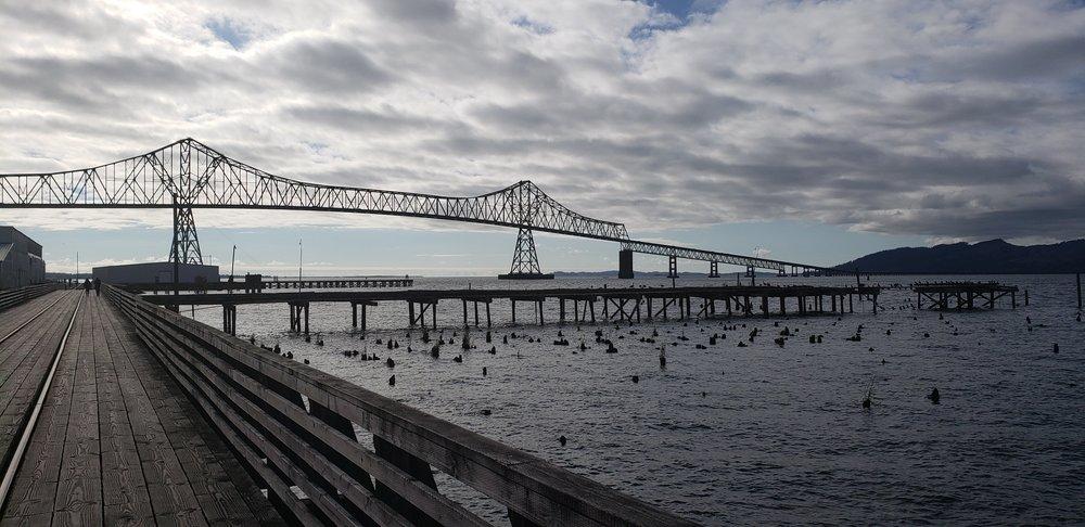 I've ridden across that bridge