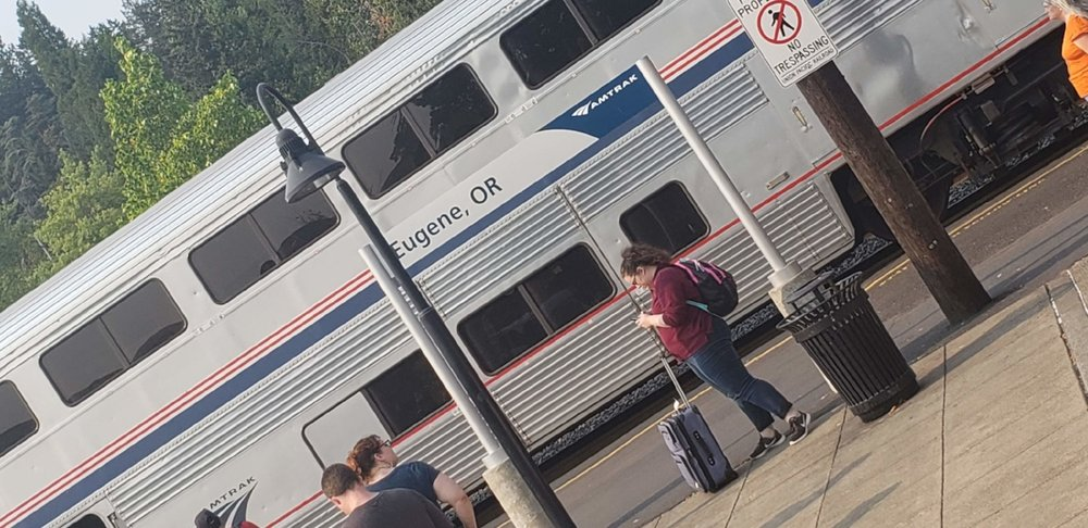 Eugene Train Station