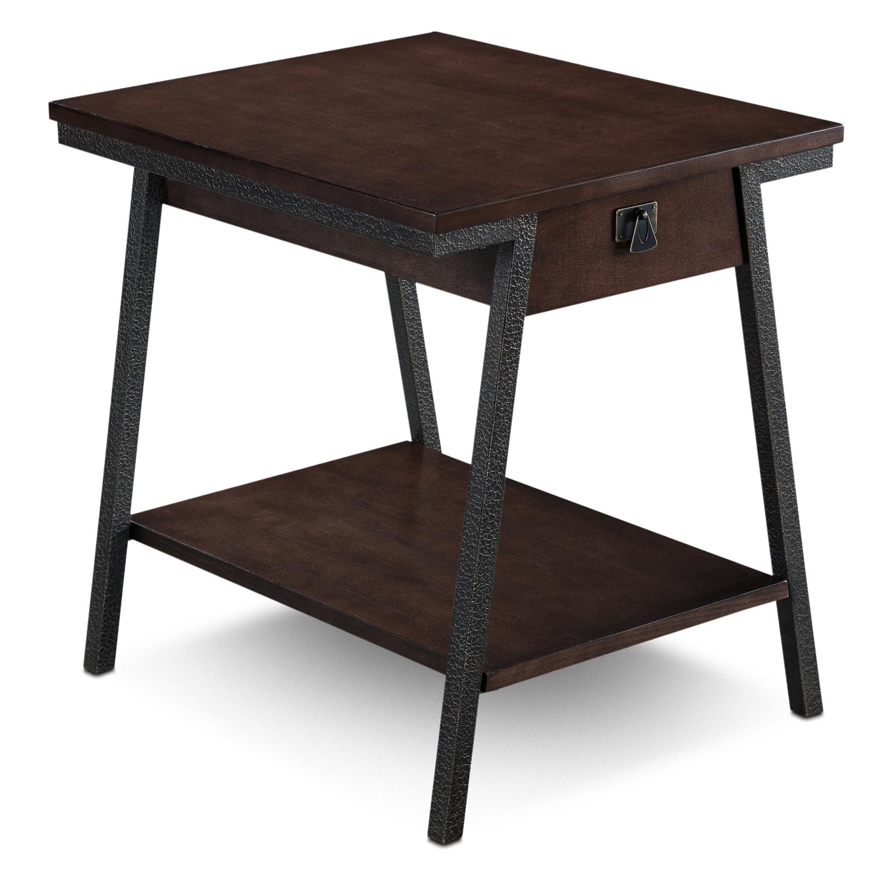 Drawer End Table   Empiria Collection #11407