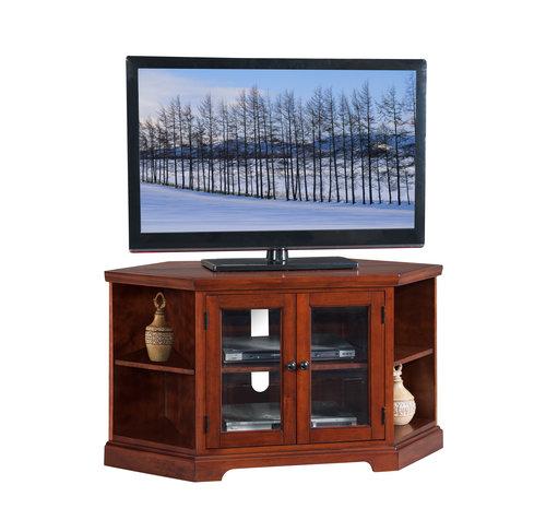 corner oak with console tv stand hutch carolina media smarton co tall cabinet