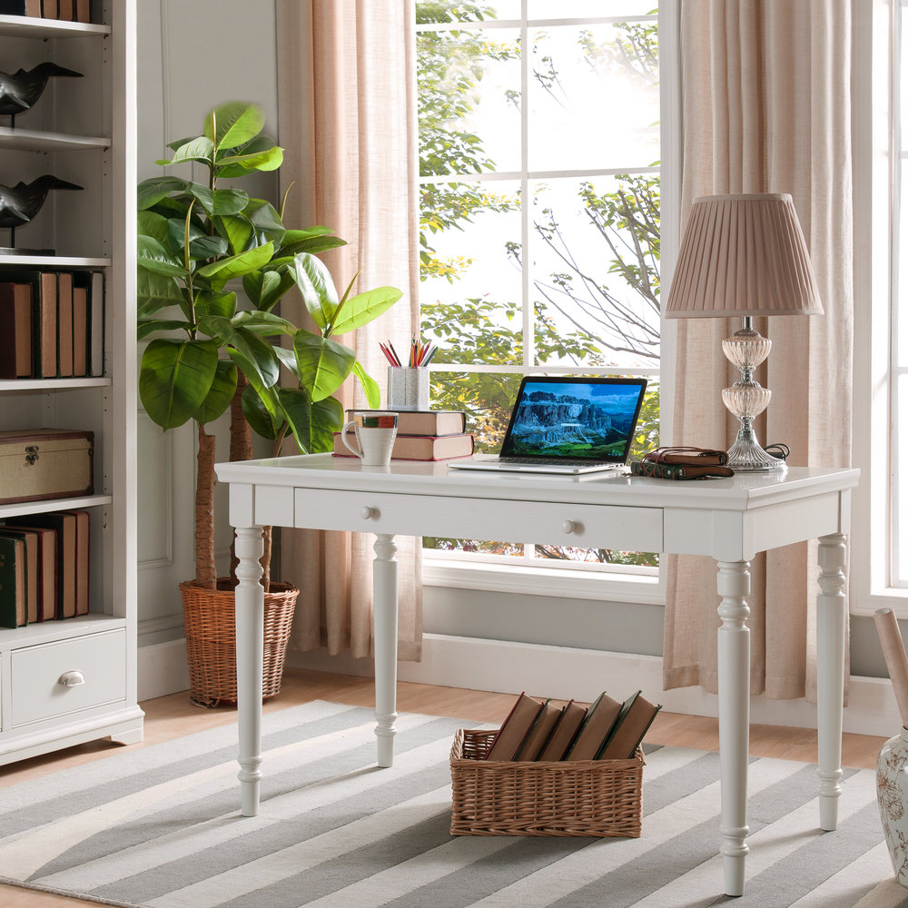 w white oak product drawers in cottage th lifestyle top desk