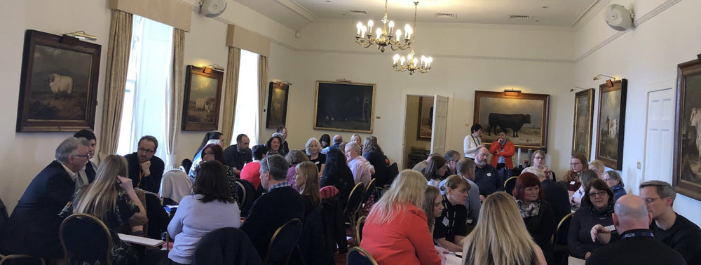 Forum members working on actions to tackle mental health and wellbeing in Scotland