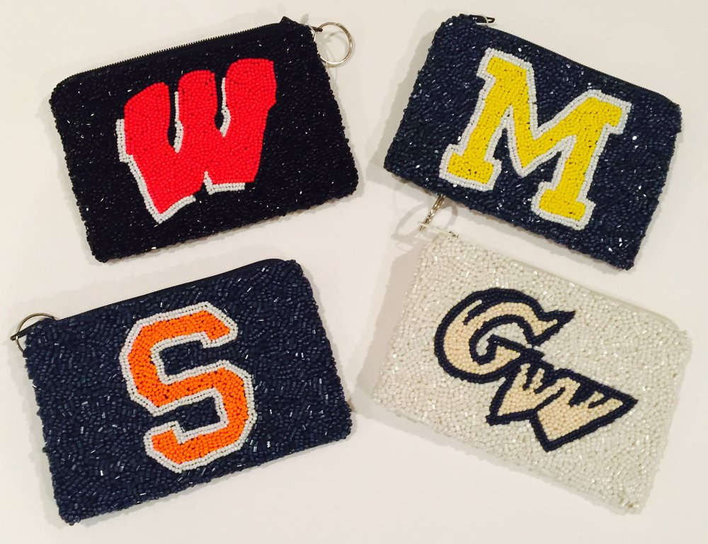 COLLEGE CHANGE PURSE $42.00