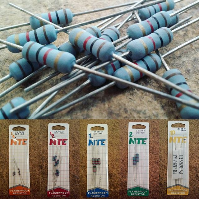 We have a great selection of resistors for just about any repair or project. Stocking various values ranging from .1 Ohms - 22 Mega Ohms and various wattages ranging from 1/4 Watt up to 25 Watts. Give us a call today, we are happy to help. #soldering #NTE #nte #nteelectronics #arduino #capacitors #resistors #relays #wire #batteries #ledstriplight #ledlights #led #fuses #transformers #transistors #electronicswarehouse #electricaltape #hdmicables #ethernetcable #CAT6 #CAT5 #riverside #corona #redlands #Sanbernardino #downtownriversideca #downtownriverside