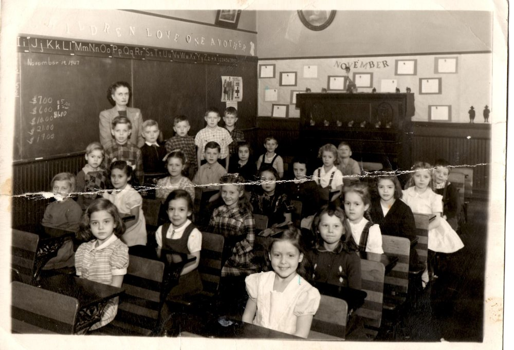1948 2nd Grade from St. Francis Xavier School.jpg