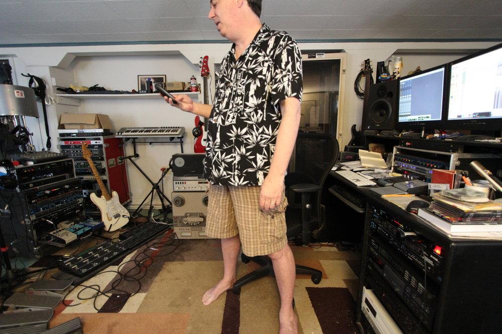 Mike Hog Studio w: phone.JPG