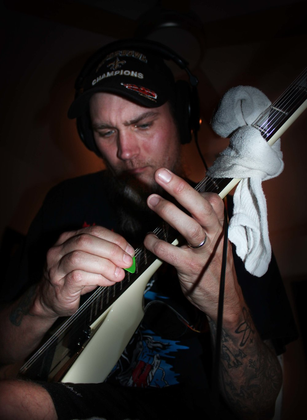 Jason Portera reveals the 'dirty sock, hammer- on trick'