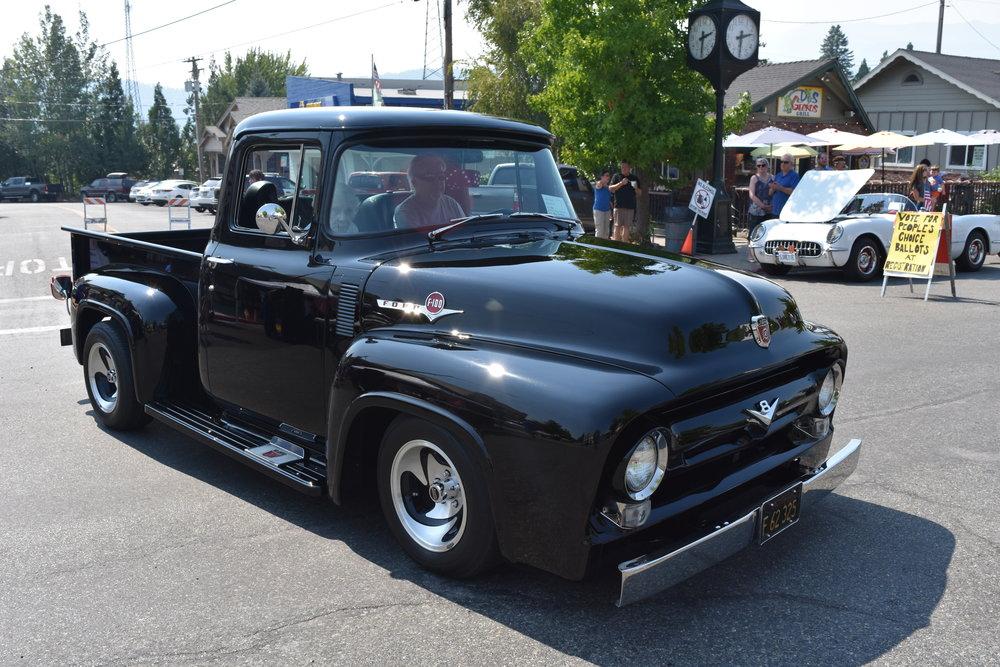 The Mt. Shasta Car Show & Shine. Downtown Mt. Shasta