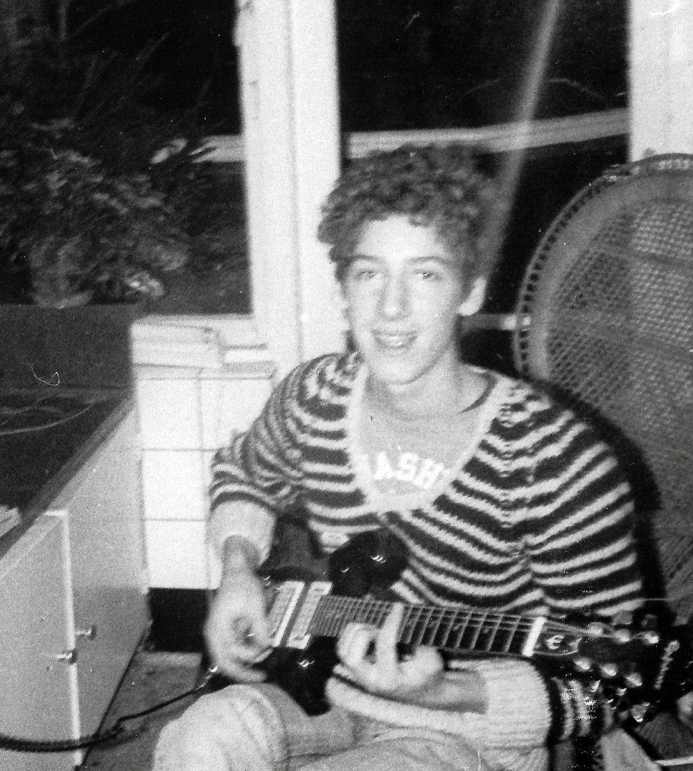 Piet Lichtveld, (guitar) early 80's