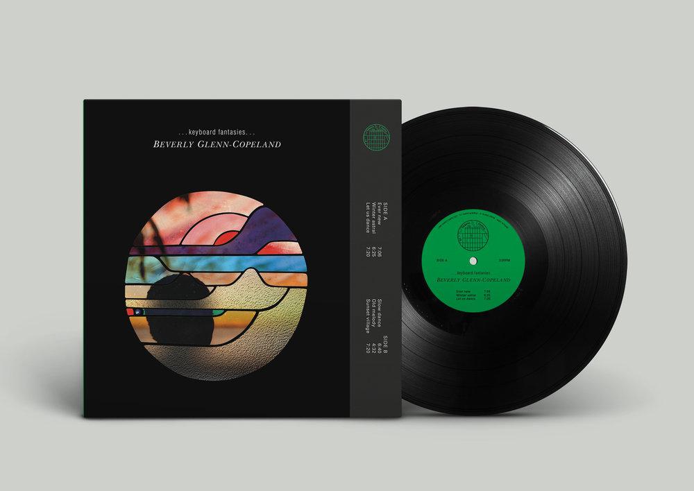 Beverly Glenn-Copeland's Keyboard Fantasies 01SC (LP)