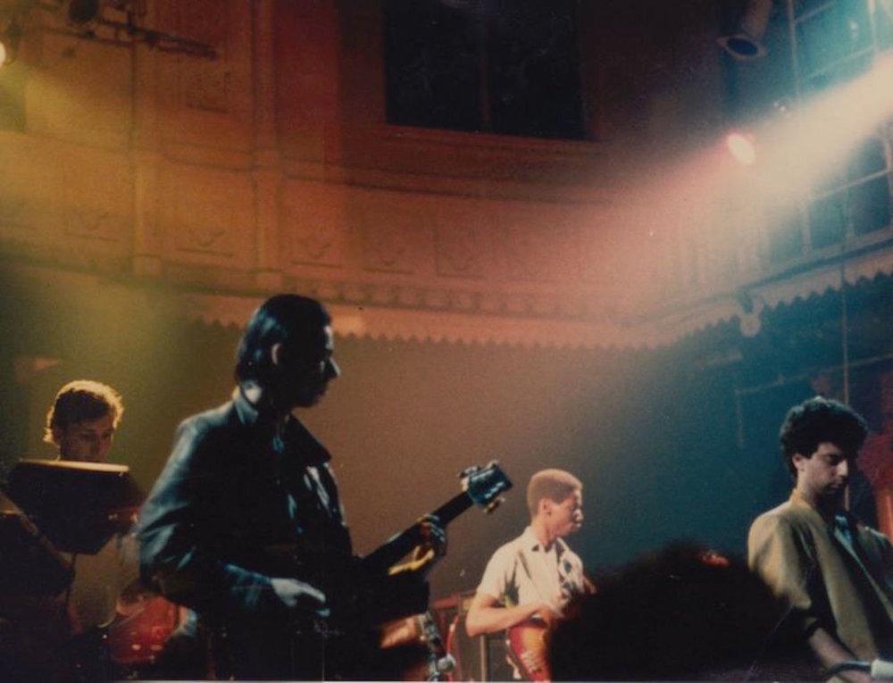 First gig, Tegentonen 1984