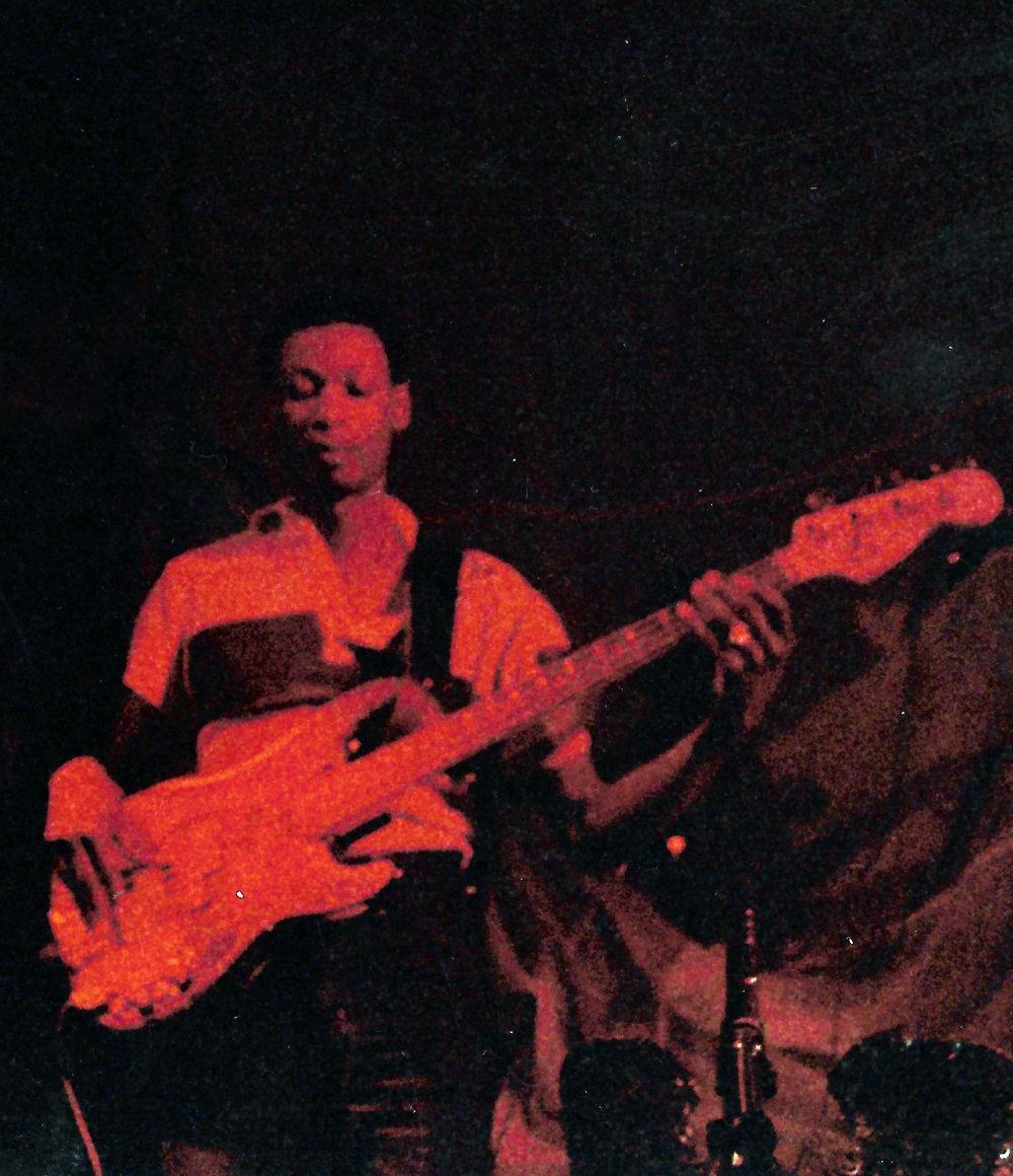 Cecil Wespel,(bass)  mid 80's