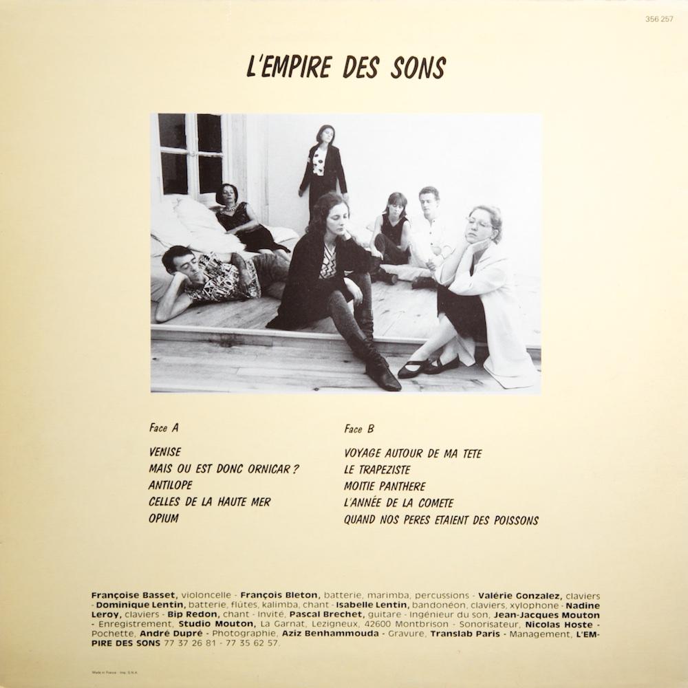 L'Empire Des Sons - S/T (LP)