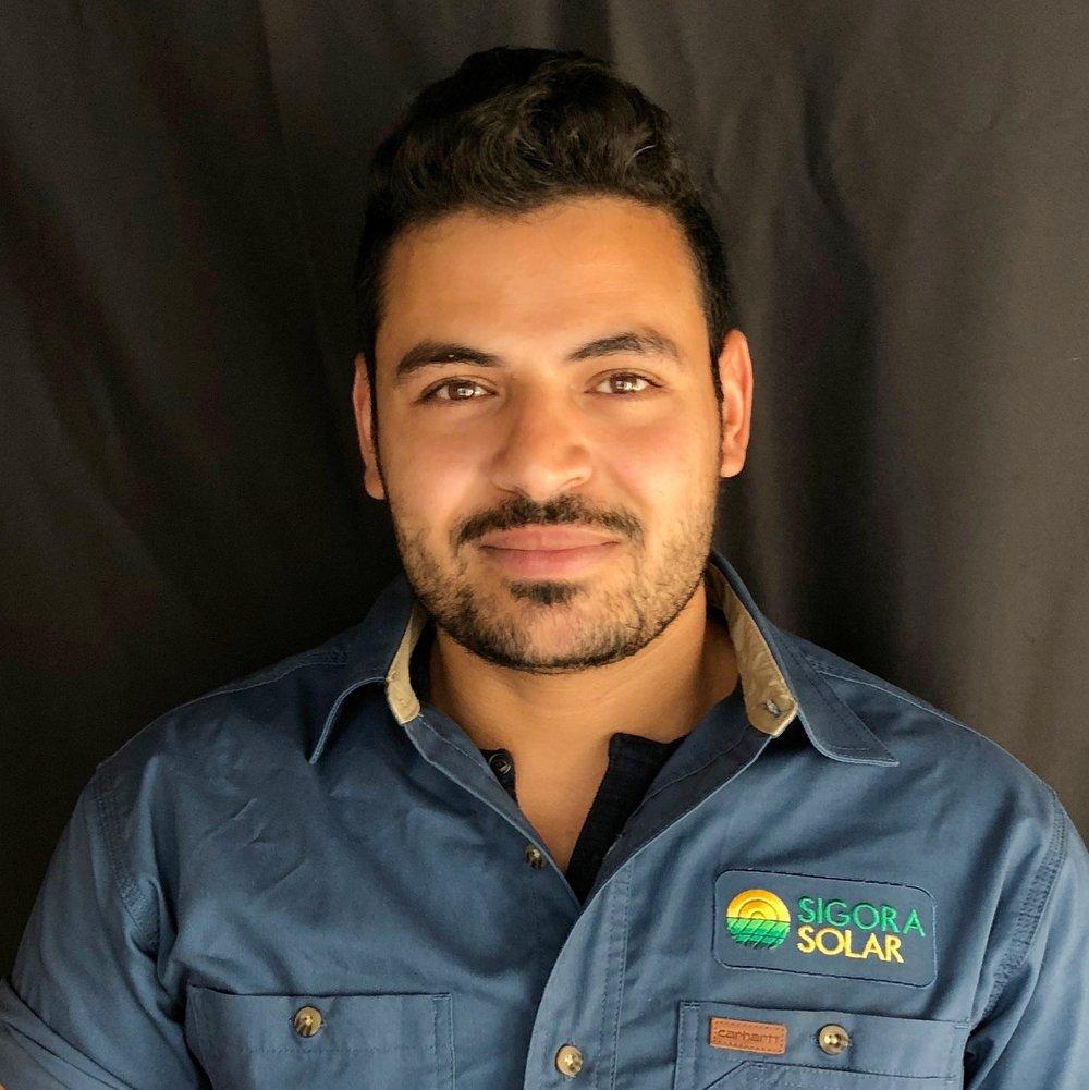 <p><strong>Driss Ben Saidi</strong>Solar Technician II