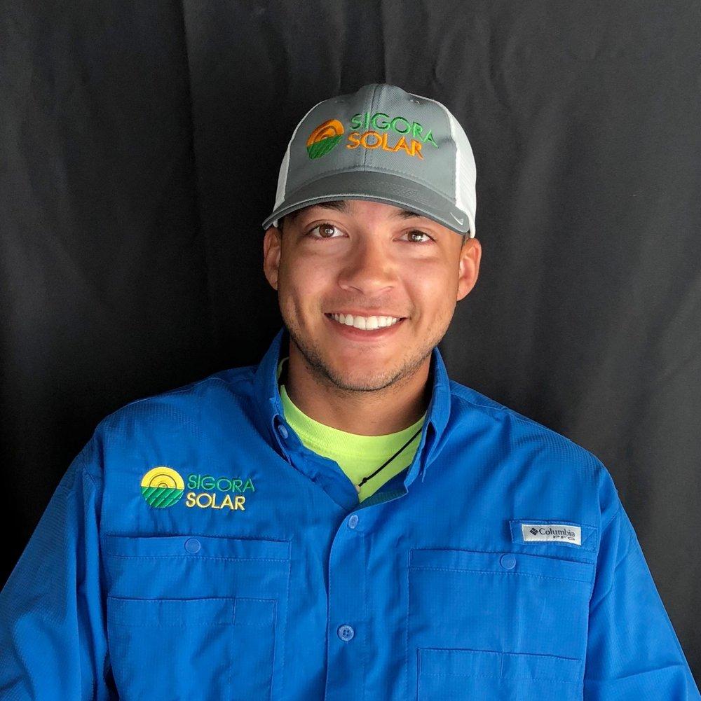 <p><strong>Matthew Rowe</strong>Commercial Solar Technician