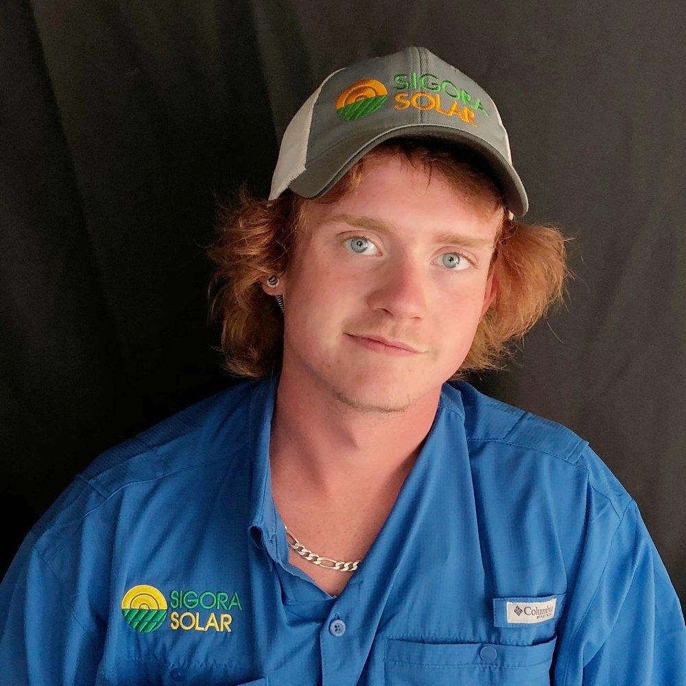<p><strong>Randall Gibson</strong>Solar Installer