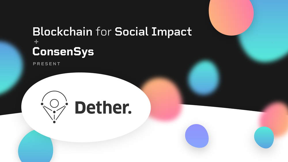 Introducing Dether  - When  –  May 3Where  –  Paris, France  -  Details coming soon