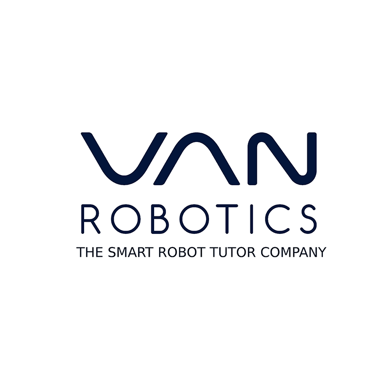 Social Starts 3 | Education - Van Robotics creates smart, robot tutors which delight and engage K-8 students to accelerate learning. Fun social interactions put students at ease and collect performance and socioemotional metrics to personalize each student's experience.