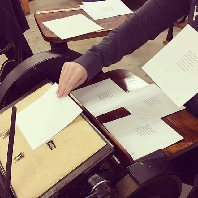 katie nealon letterpress printing