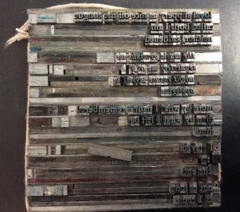 judi goldberg letterpress printing