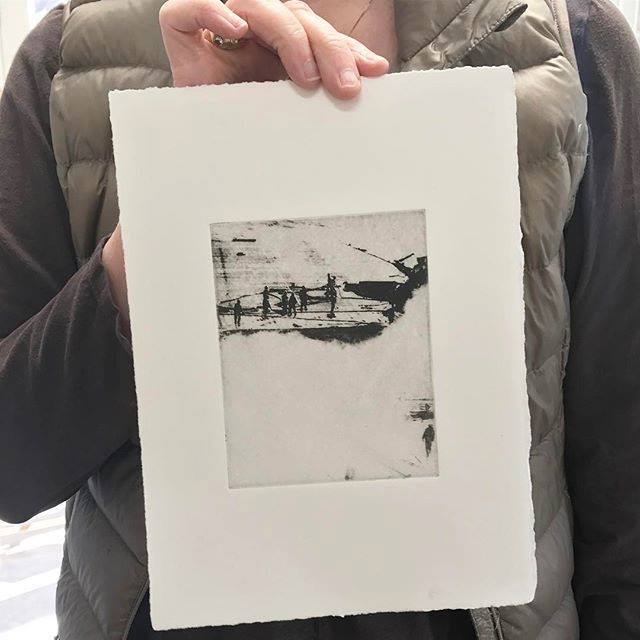 Solar Plate Printing with Jami Taback