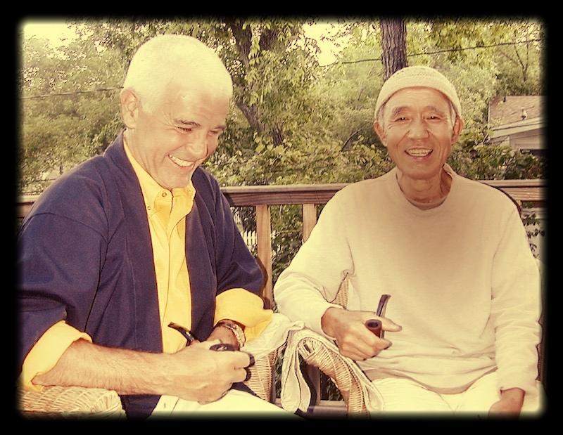 Daishin Sensei and Kobun Chino