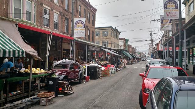 Busy City Street Cars
