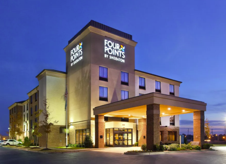 Four Points by Sheraton Memphis East - 5877 Poplar Ave Memphis, TN 38119 (901)767-6300(next to Jose's restaurant River Oaks)