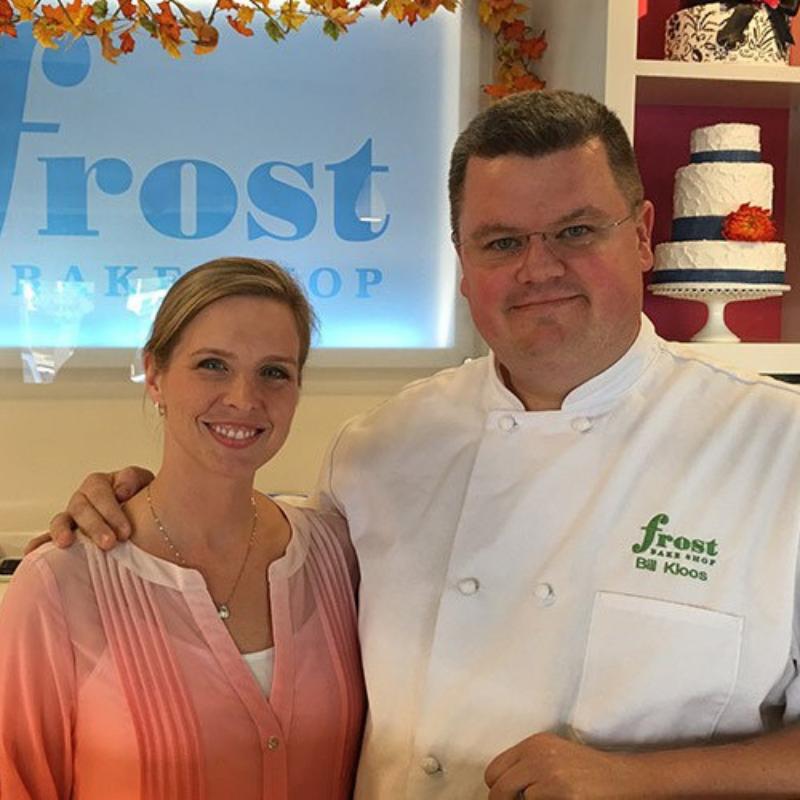 Chef Bill Kloos - Frost Bake Shop 7876 Stage Hill Blvd. Ste. #106 Bartlett, TN 38133 901-634-4666 bill@frostbakeshop.com