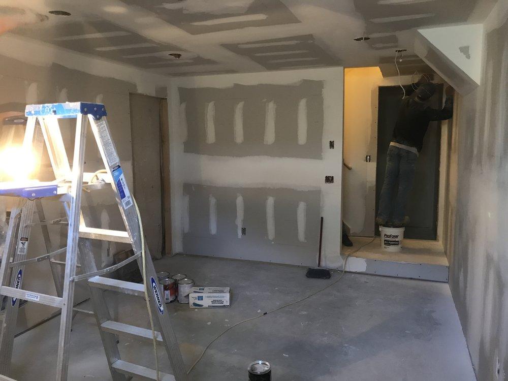 Progress - Basement Remodel in Old Lyme CT - Shaw Remodeling (3).JPG