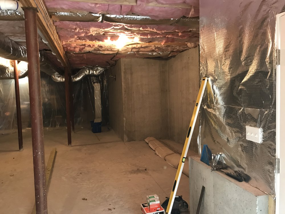 Shaw Remodeling - Before Photo - Basement Remodel in Old Lyme CT (2).JPG