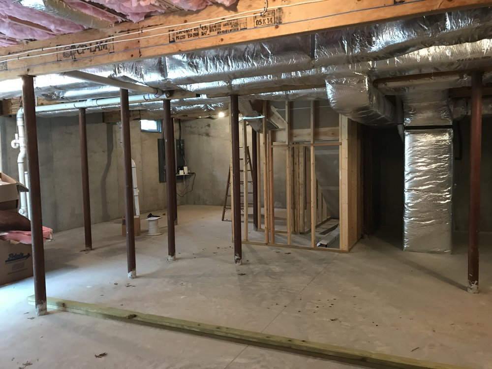 Shaw Remodeling - Before Photo - Basement Remodel in Old Lyme CT (4).JPG