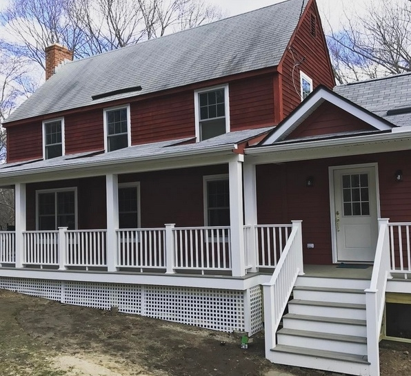 House Addition and Porch in Old Lyme CT