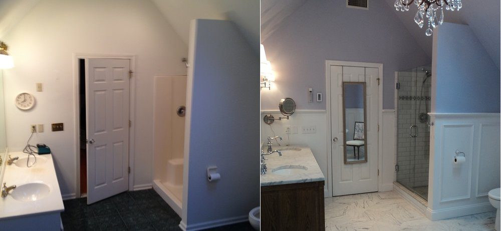 Shaw Remodeling Bathroom Remodel Before and After