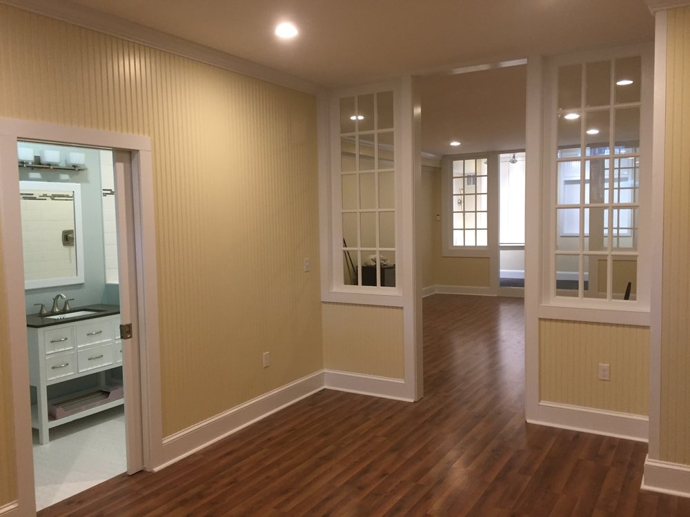 Basement Remodel in Essex CT - Shaw Remodeling