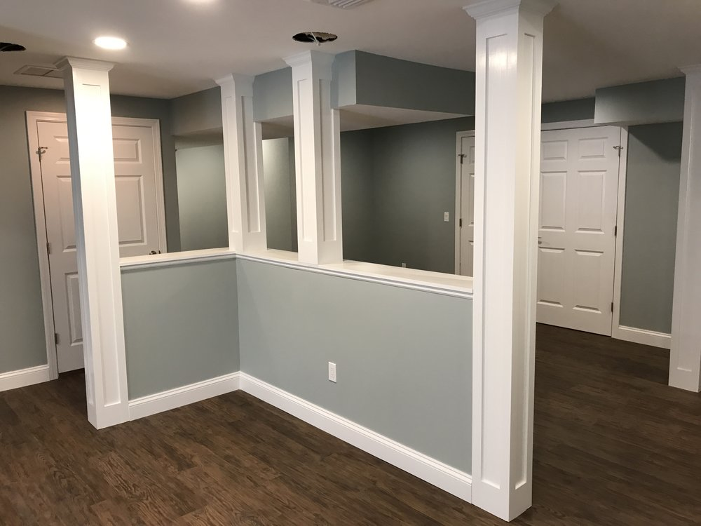 Shaw Remodeling - After - Basement Remodel in Old Lyme CT (1).JPG & Best Home Improvement Blog Niantic CT | The Finished Basement ...