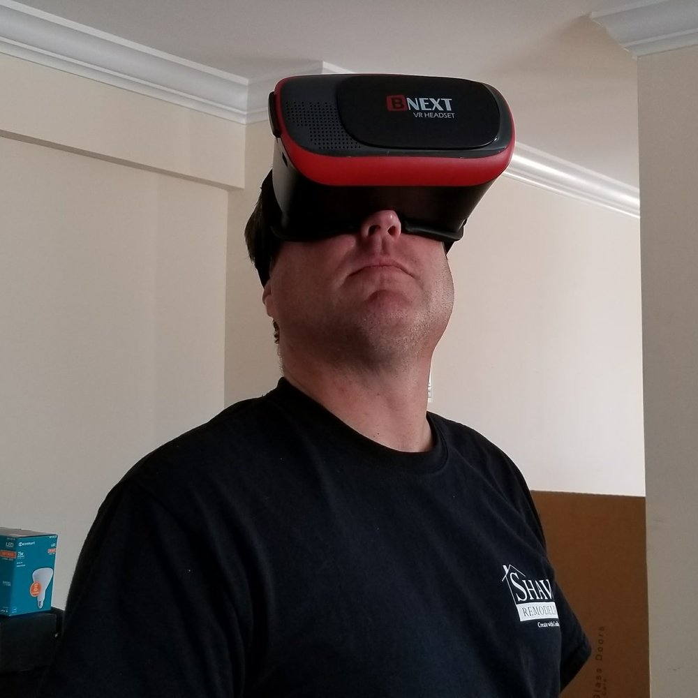 Colin Shaw Blog VR Headset
