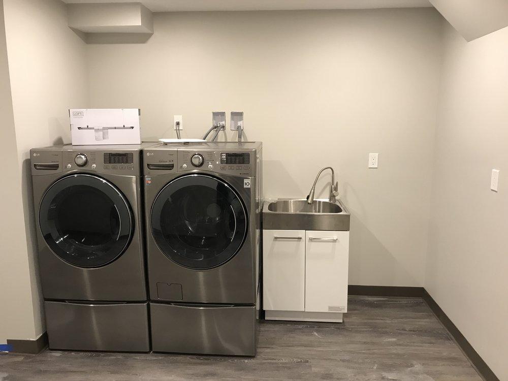 Shaw Remodeling - After photo - basement finish laundry area.jpg