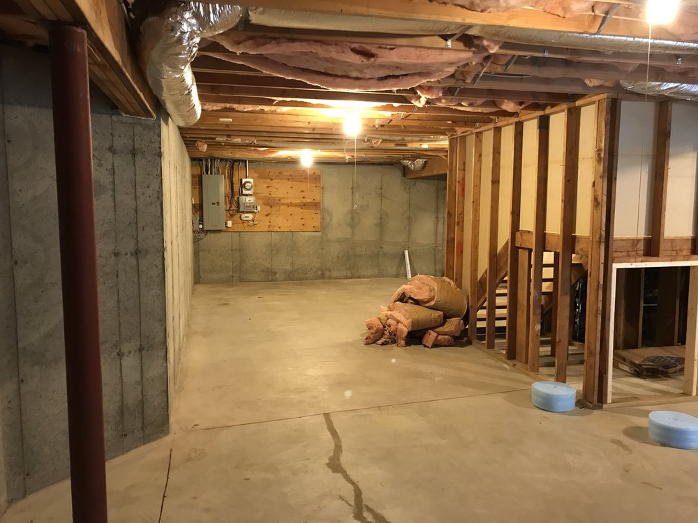 Shaw Remodeling - Before - Basement Conversion Remodel - CT (2).JPG