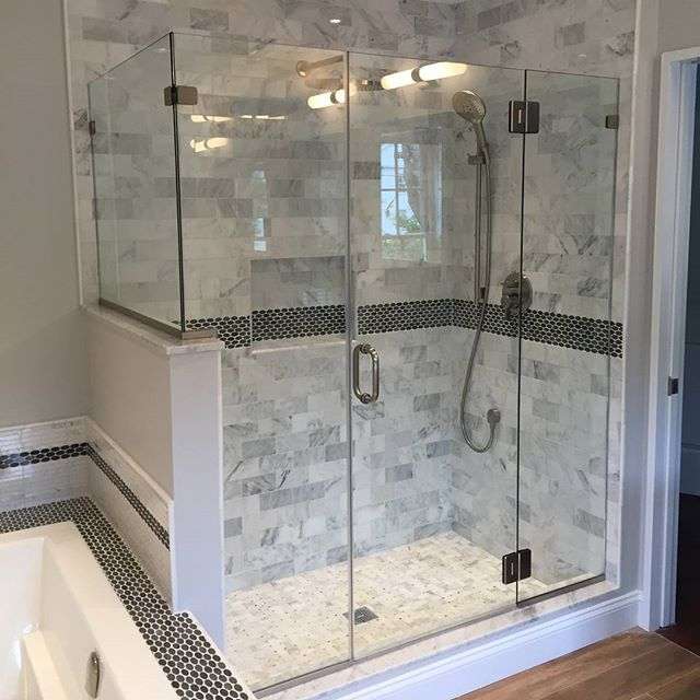 Bathroom remodels can be major face lift for one of the most important rooms of the house! If you're trying to decide where you'd like to splurge, consider these bathroom must have items. More details and photos in my newest blog post, link in bio!  1. Good quality shower fixtures. 2. Rain showers! 3. A glass shower door with panels. 4. The right tile is essential. 5. A heated tile floor. 6. A heated towel rack. 7. The exhaust fan. 8. A shower bench. 9. The hand-held shower head.  #linkinbio #onthelevel #blog #blogger #homeimprovement #remodeling #remodelingcompany #renovation #interiordesign #beautiful #bathroom #bathroomdesign #shower #tile #eastlyme #ct #shawremodeling