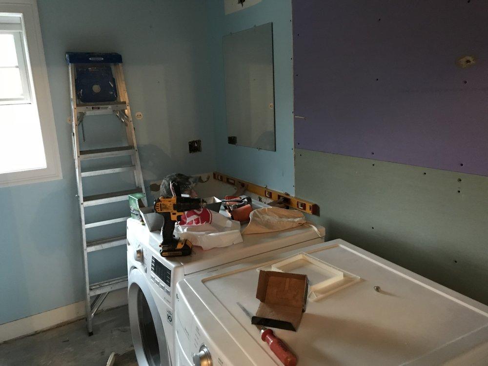 Shaw Remodeling - Demo day in bathroom remodel -East Lyme CT (2).jpg