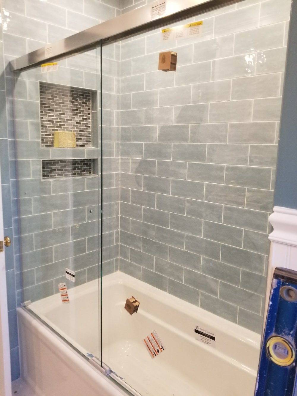 Shaw Remodeling - Progress photo - Bathroom Remodel in East Lyme CT  (4).jpg