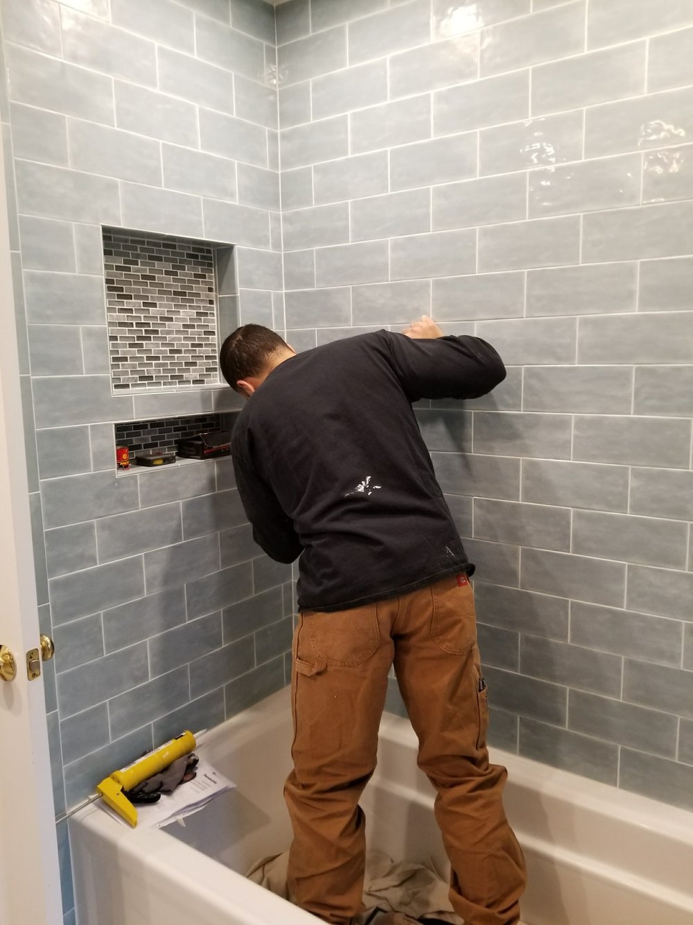 Shaw Remodeling - Progress photo - Bathroom Remodel in East Lyme CT  (7).jpg
