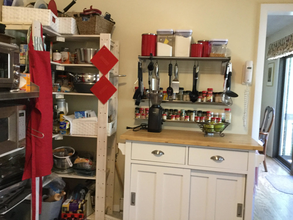 Before photo - Kitchen Remodel in East Lyme CT